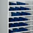 zoom armoire atelier compartiments