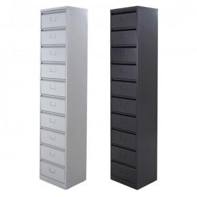 vue de 2 colonnes à clapets 10 cases