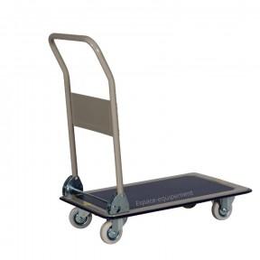 chariot rabattable 150 kg plateau anti dérapant